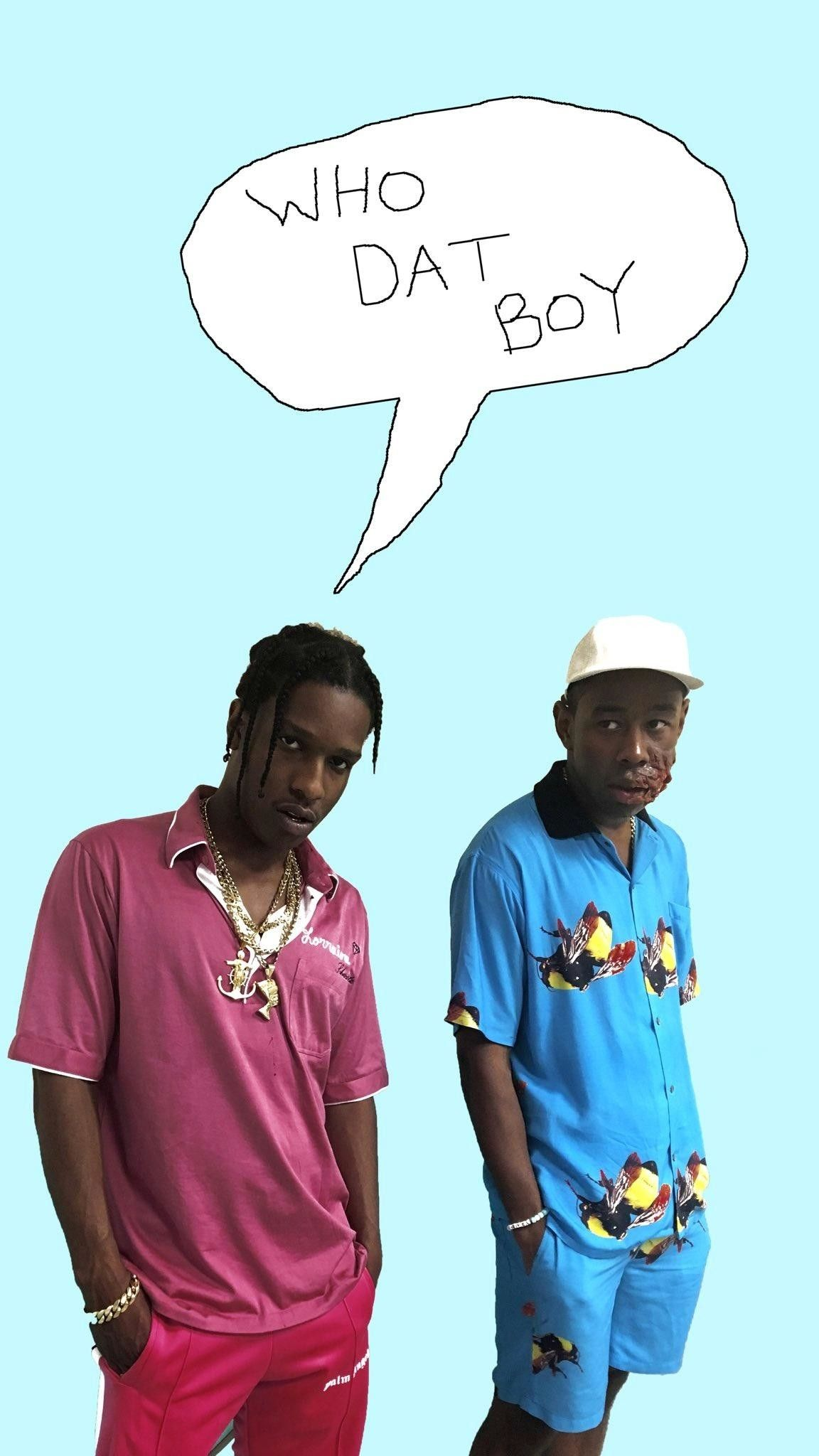 Who Dat Boy Phone Background Tyler The Creator Boys Wallpaper