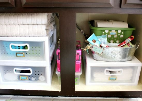 Find This Pin And More On My Bathroom By Libbylane8. Bathroom Cabinet  Organization ...