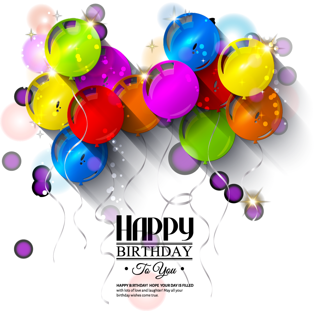 Happy Birthday Transparent PNG