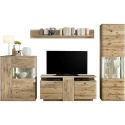 Photo of Woodford wall unit Astoria – wood-colored – 300 cm – 208 cm – 45 cm – wall units> extension walls