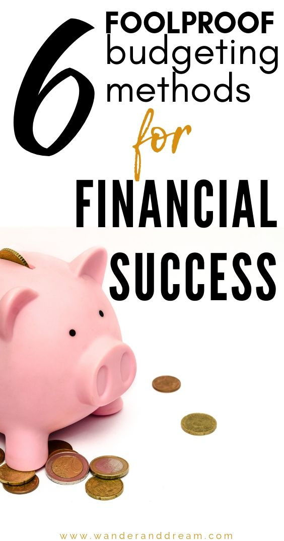 One Stop Solutions In Budget: 6 Super Simple Budgeting Methods To Help You Succeed At