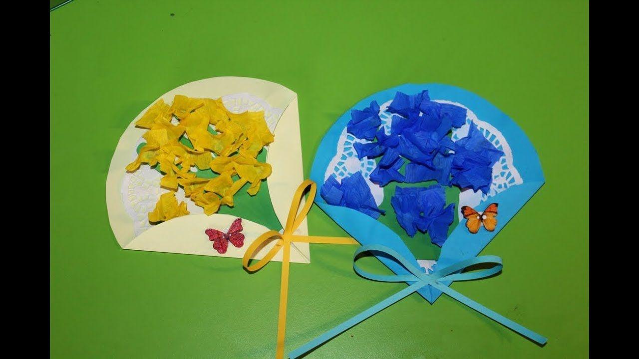 Laurka Dla Mamusi Flower Crafts Spring Crafts Craft Gifts