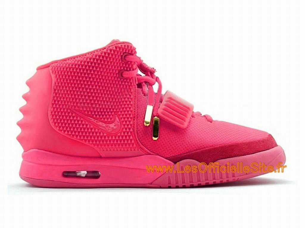 boutique nike air yeezy 2 ii gs 2015 chaussures nike lifestyle pour femme rose