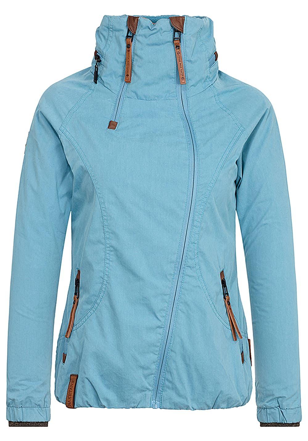 f5fe953a4bde Naketano Kanone Ist Geladen - Jacke für Damen - Blau Jetzt bestellen unter   https