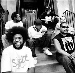 """(Present) 'The Roots - Inspired by the """"hip-hop band"""" concept pioneered by Stetsasonic, the Roots themselves have garnered critical acclaim and influenced later hip-hop and R acts.' (Last.fm, 2012)"""