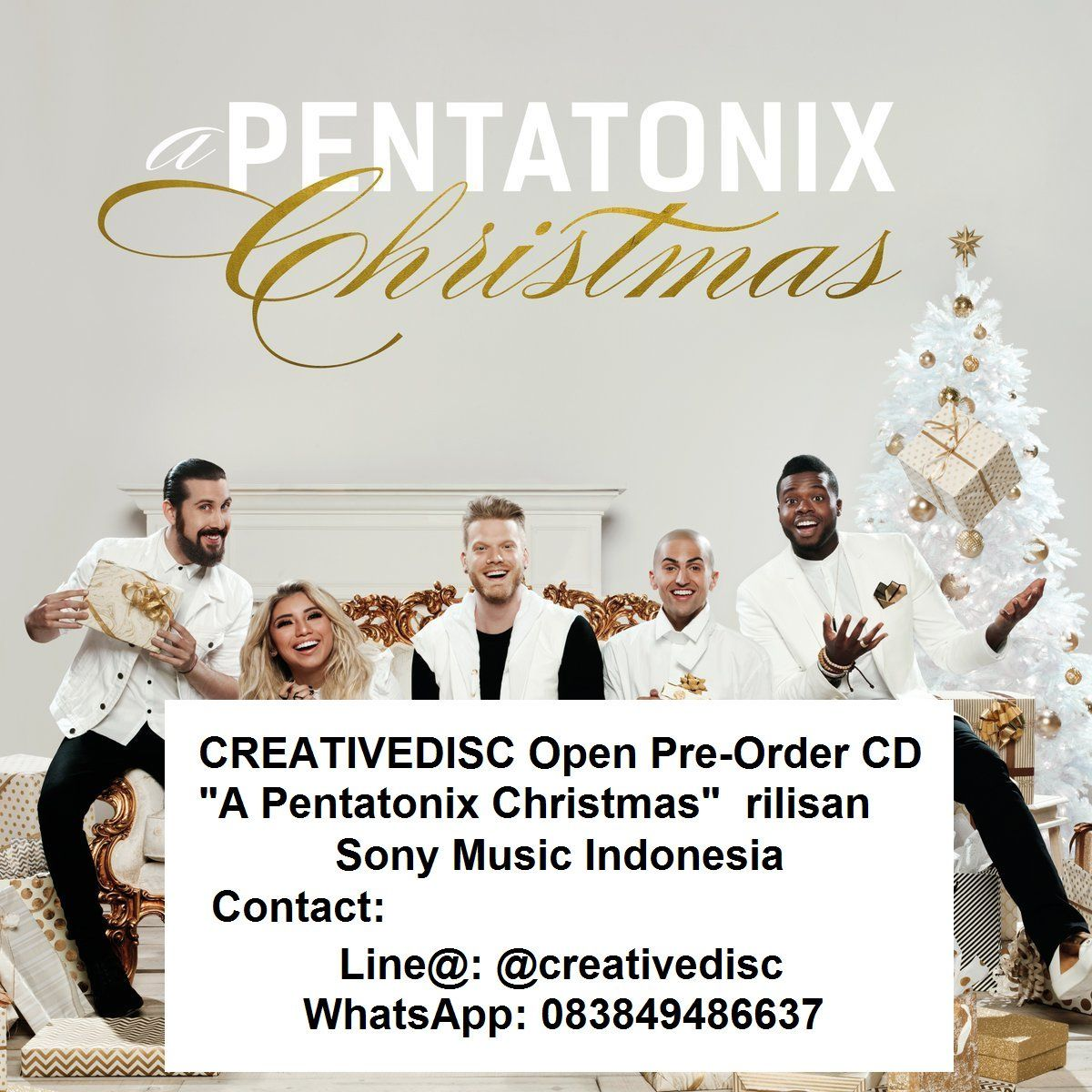 Pentatonix Indonesia on Twitter: quot;@CREATIVEDISC / OPEN PRE ...