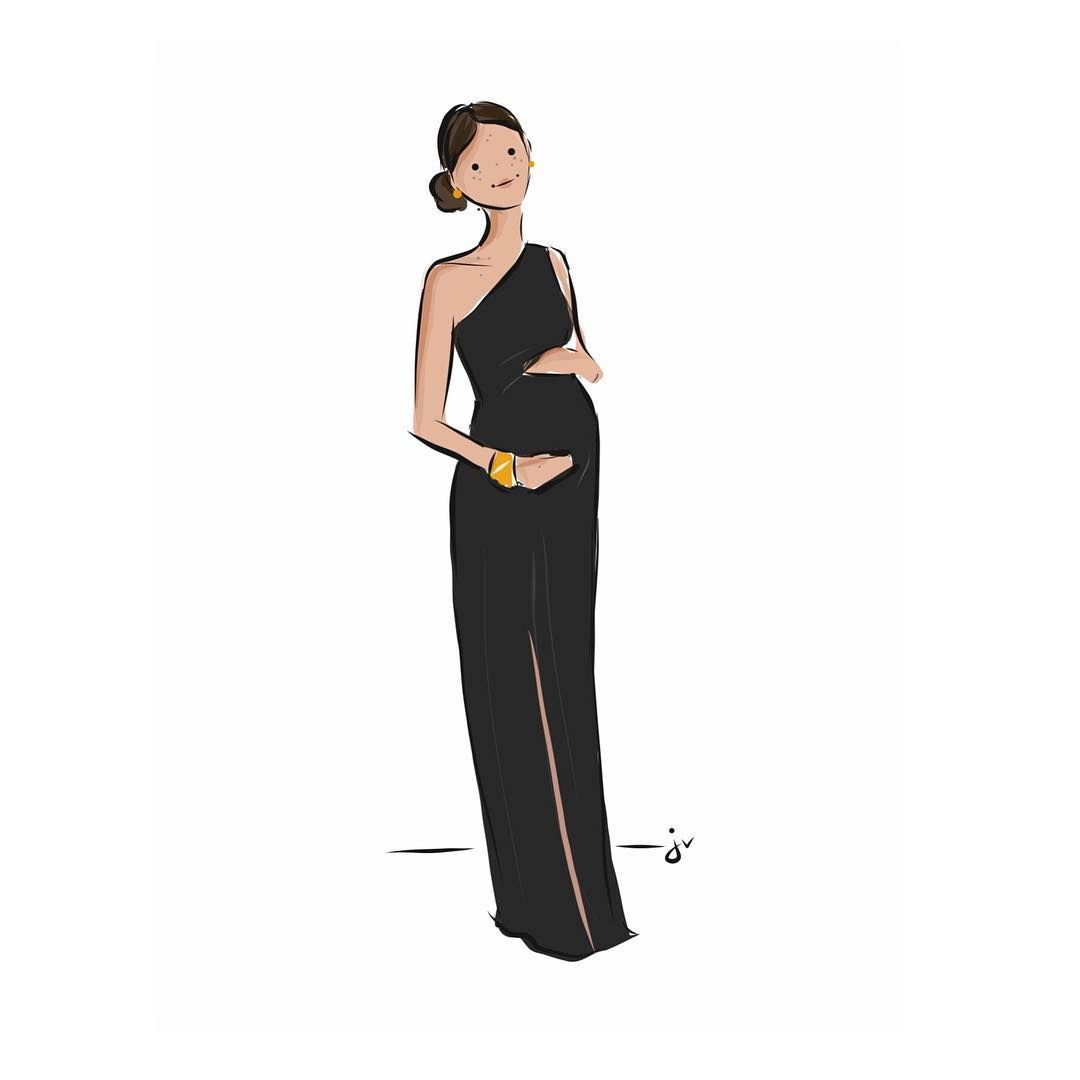 Meghan in @givenchyofficial. 🖤 It's been killing me not to ...