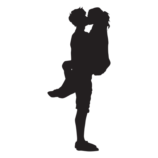 Couple Romantic Kiss Silhouette Png Image Download As Svg Vector Eps Or Psd Get Couple Romantic Ki Silhouette Painting Silhouette Drawing Kissing Silhouette
