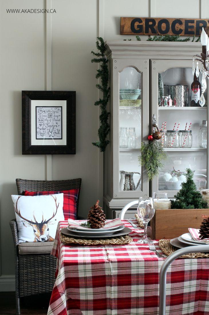 A Woodland Christmas Dining Room  Woodland Christmas Room And Stunning Christmas Dining Room Inspiration Design