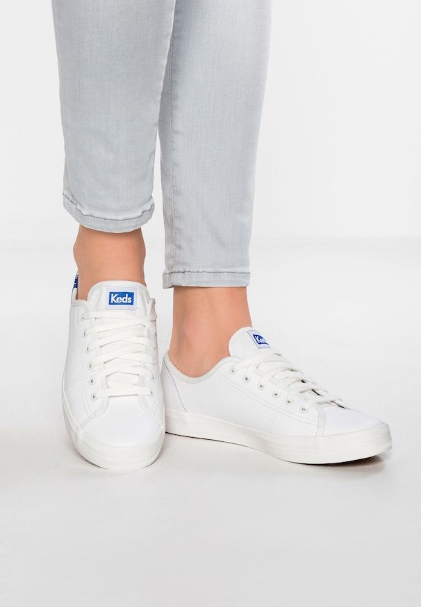 KICKSTART LEATHER - Sneaker low - white