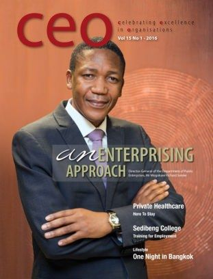 CEO Magazine South Africa Issue 01, 2016 digital magazine - Read the digital edition by Magzter on your iPad, iPhone, Android, Tablet Devices, Windows 8, PC, Mac and the Web.