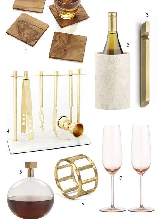 Gifts For A Glamorous Home Bar Holiday Gift Guide Apartments