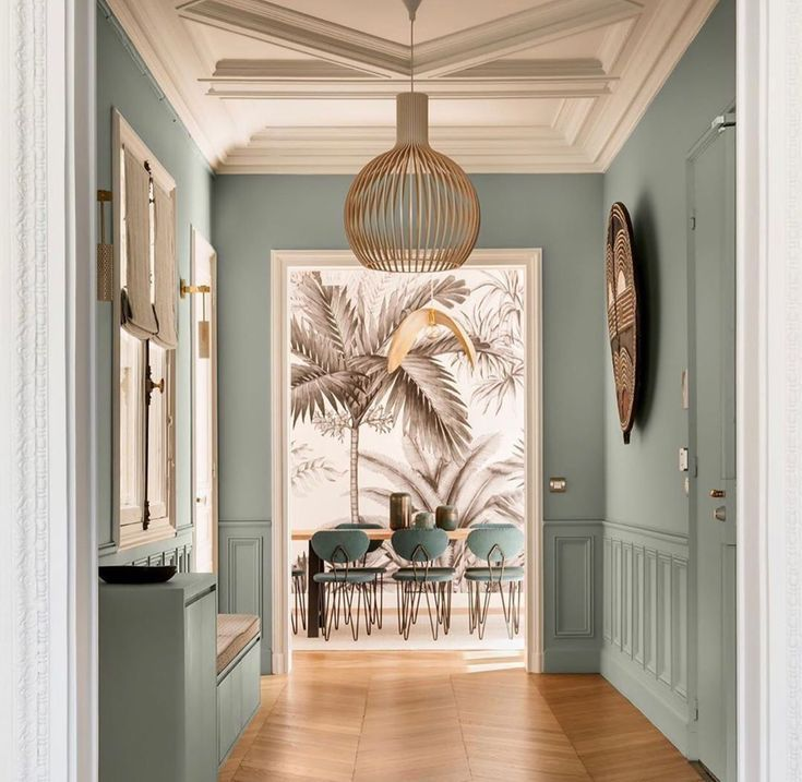 Flur und Eingang gestalten Inneneinrichtung planen für Eingangsbereich mit Farbe