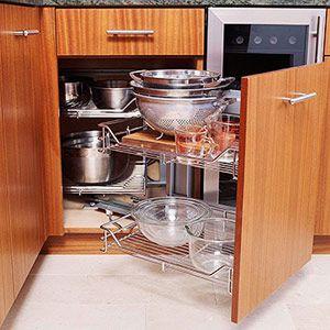 Magic Corner Kitchen Cabinet