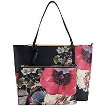 Ted Baker Nenaa Per Bag Navy Online At Johnlewis