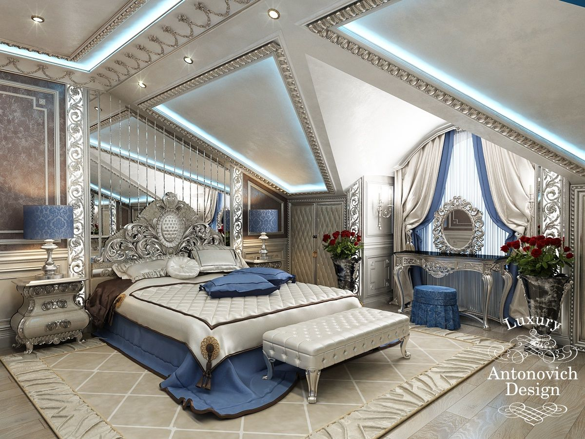 Luxury Bedrooms Interior Design Captivating Президент  Элитный Дизайн Коттеджей От Antonovich Design  Luxury Decorating Design