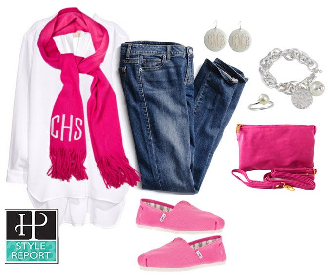 HandPicked: Casual Monogram Outfit