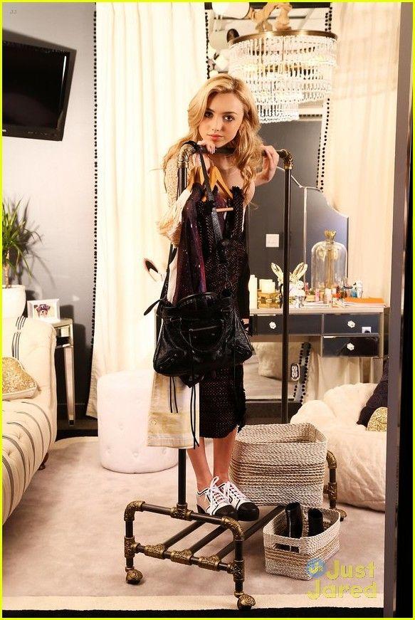 Peyton List Bunkd Dressing Room Pics 02