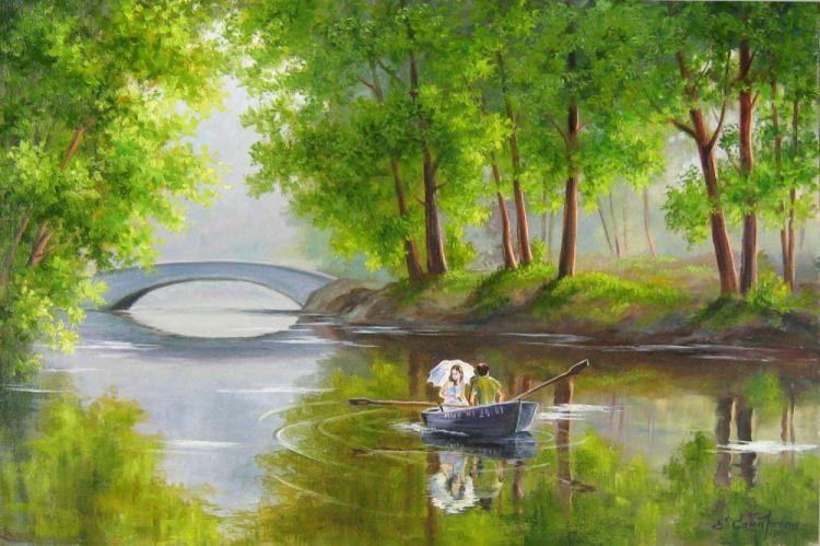 Gallery.ru / Фото #2 - Красота природы русской в пейзажах ...