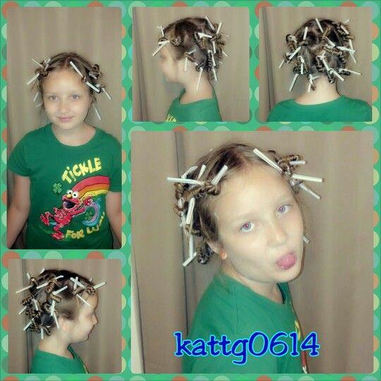 No Heat Straw Curls Thanks Mindy Burton Cute Girls