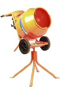 The hire / rental of a cement mixer machine in Sheffield is straight forward and easy to arrange. This pin shows an image of the popular #Belle #Minimix 150 #Cement #Mixer that  is freely available for DIY hire in #Sheffield.