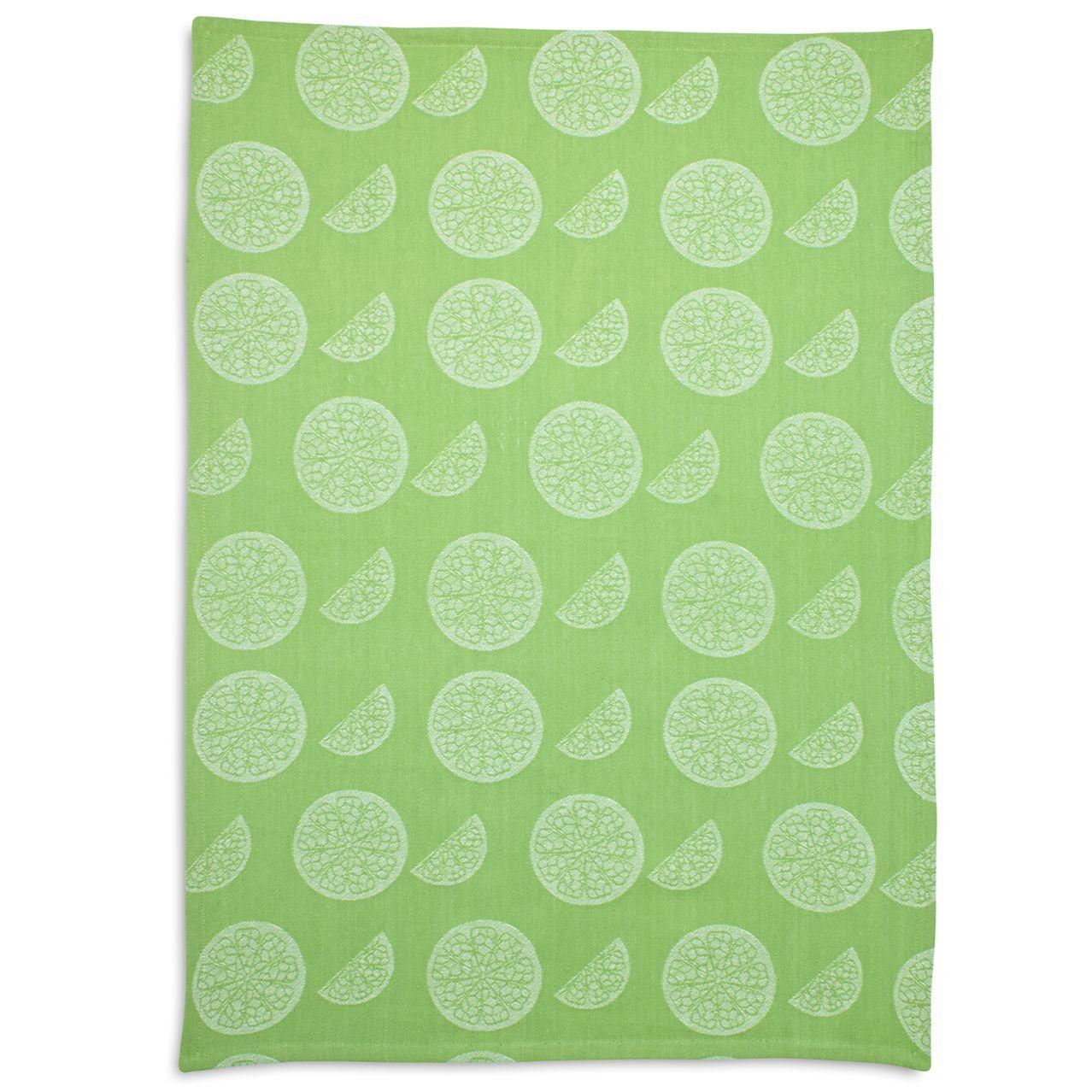 Lime Slice Jacquard Kitchen Towel Sur La Table Kitchen Towels Towel Sur La Table
