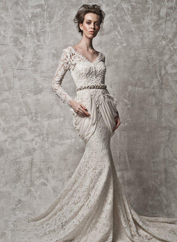 Nurita harith bridal 2014 15 facebook day wedding for The notebook wedding dress