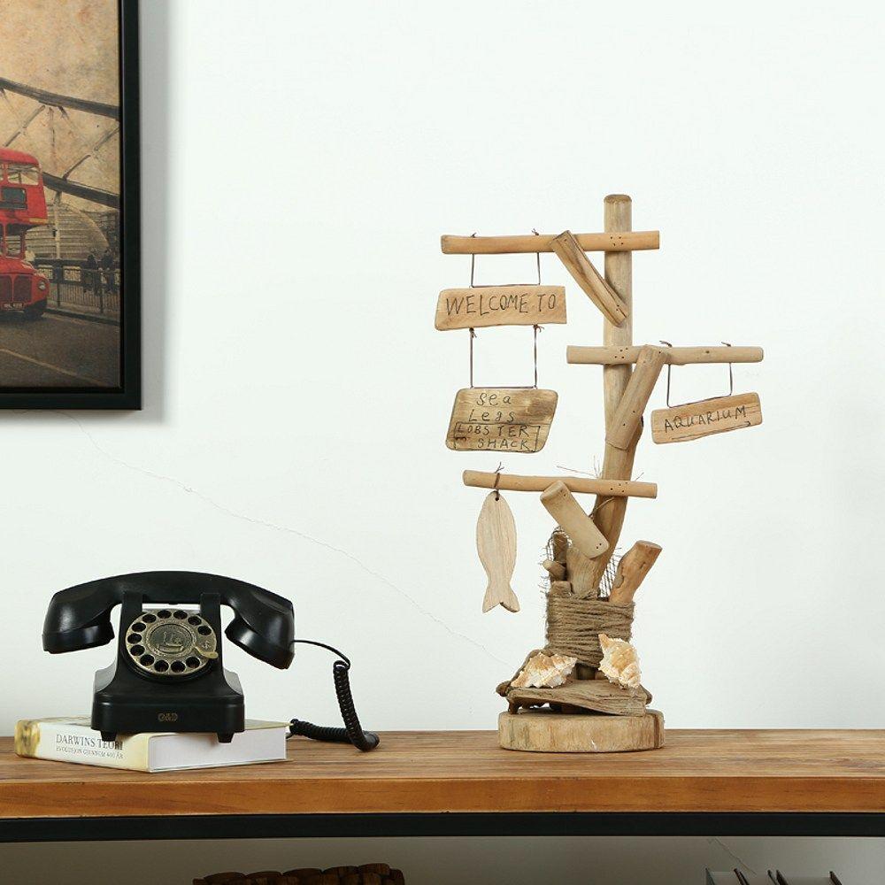 Handmade Creative Ornament Wood Desk Decoration Home Decor