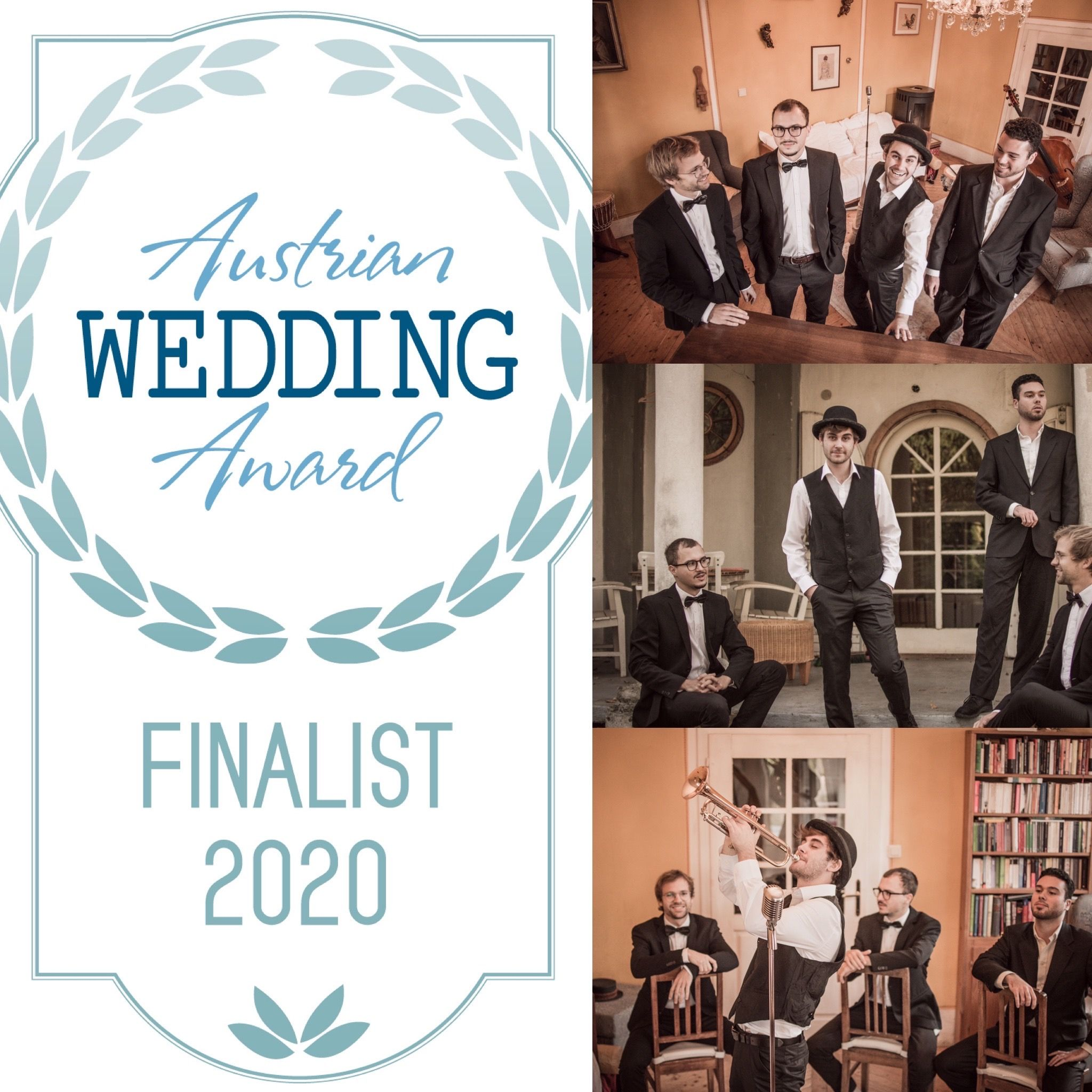 Austrian Wedding Award Finalist All Jazz Ambassadors Hochzeit Jazz Live Band