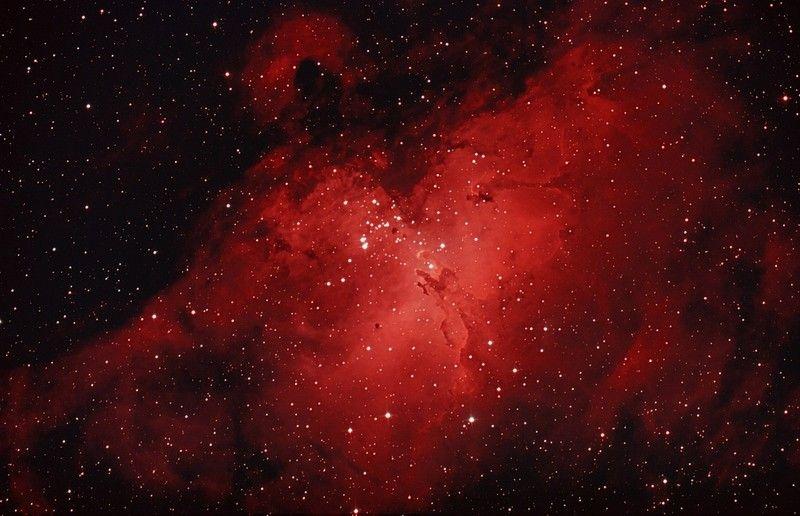 Las 105 tonalidades de rojo.