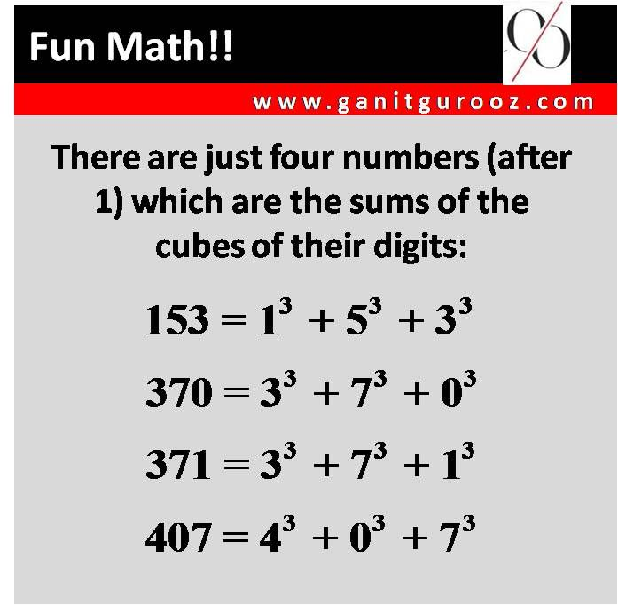 Some interesting facts | Fun Math | Pinterest | Fun math ...