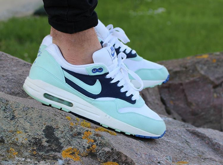 new styles 9c0a2 6fb58 Nike Air Max 1 ID Mint Candy - kifraaan