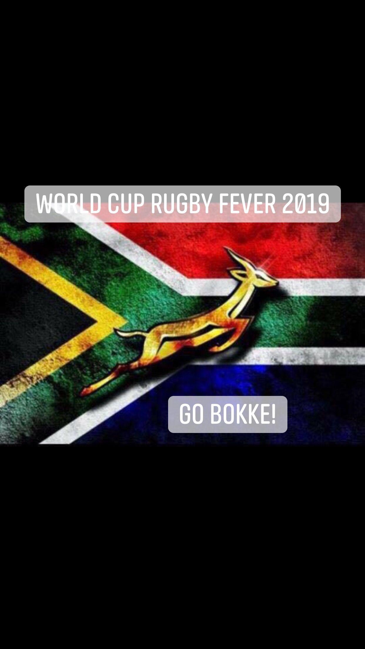 Go Bokke Go Bokke Springbok Rugby Rugby