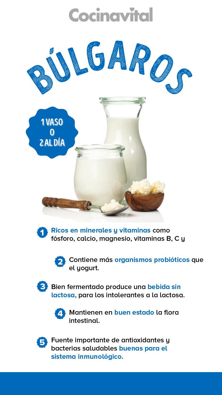 Para que sirve el yogurt natural de bulgaros