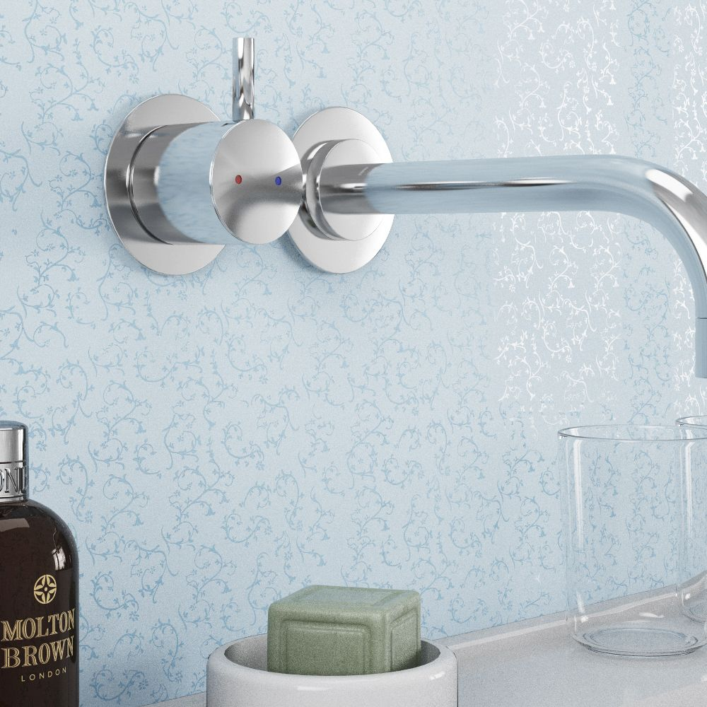 Azure Lace MR MDF Shower Panel (2420mm x 1200mm x 11mm) Available ...