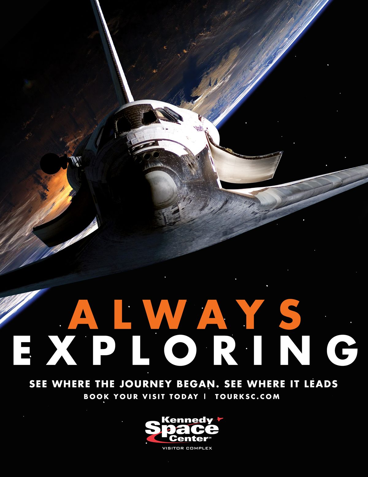 Kennedy Space Center's 2015 Brand Campaign