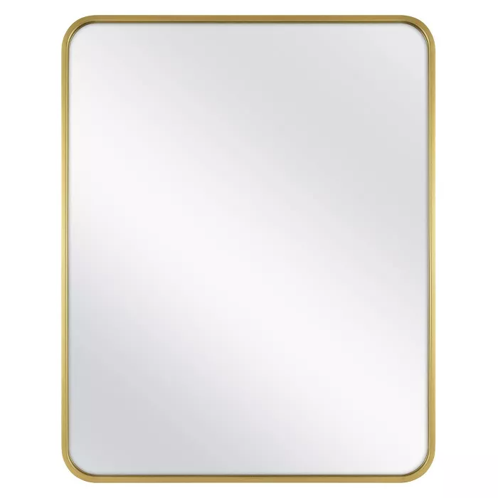 24 X 30 Rectangular Decorative Wall Mirror With Rounded Corners Project 62 Mirror Wall Decor Mirror Wall Wall Mirror Online