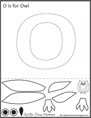 Get er done momma alphabet crafts free o is for owl printable s hoo per cute sorry i did that o is for owl craft alphabet crafts free o is for owl printable template spiritdancerdesigns Images