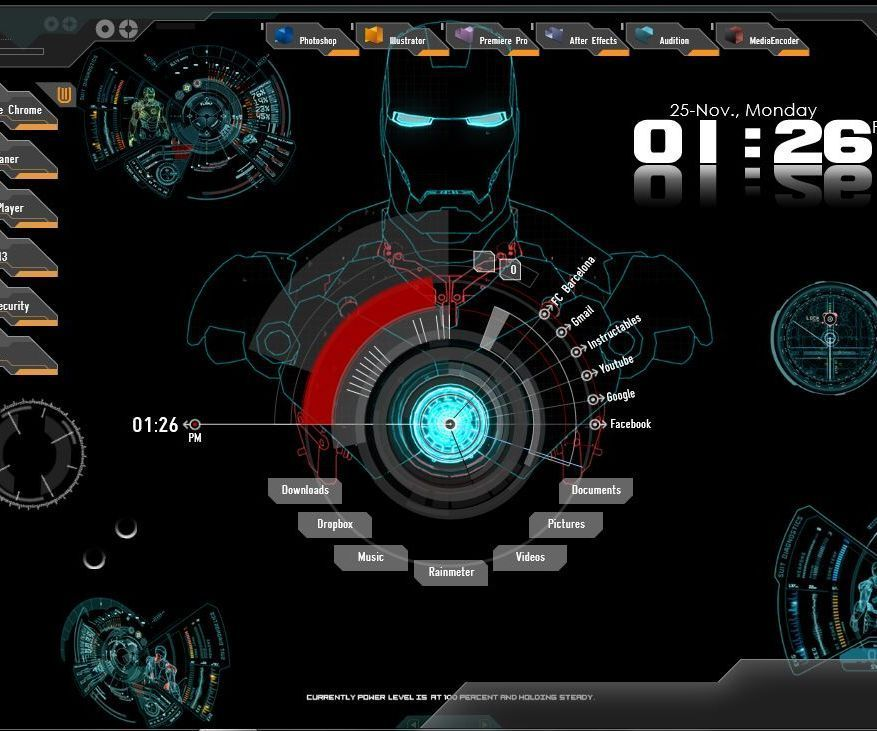 How to Customize Your Desktop to Iron Man Jarvis Interface | G