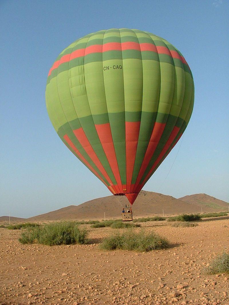 Seductive Hot Air Balloon Marrakech 194€ > Itinerance
