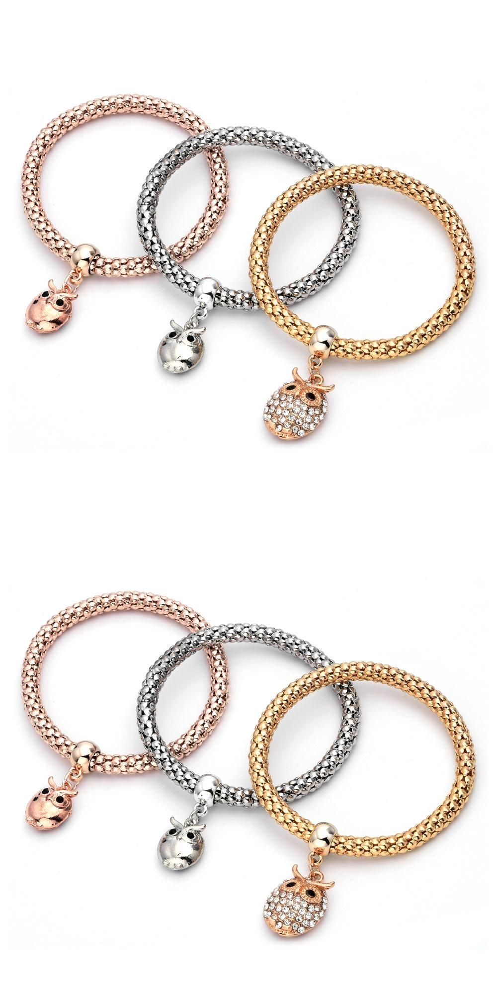 Visit to buy new fashion bracelet bangles jewelry gold silver