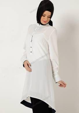 Hastanede Tesettur Fashion Islamic Fashion High Neck Dress