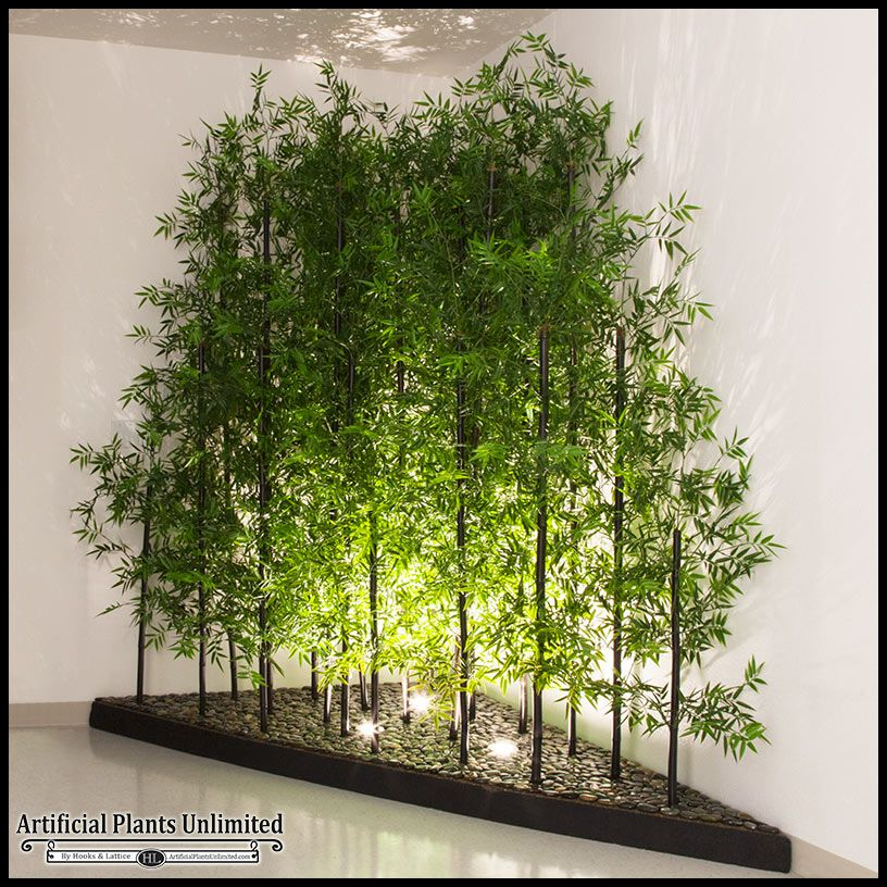 Indoor Artificial Bamboo | Artificial Plants | Pinterest | Planters ...