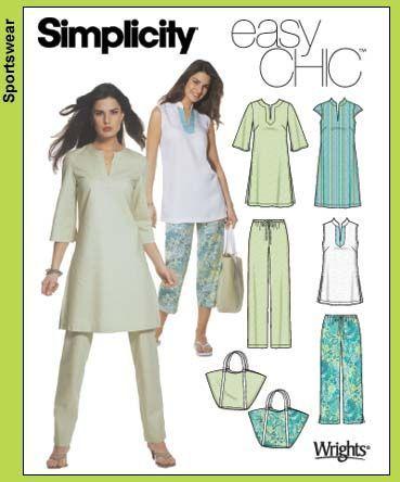 awesome Simplicity 5069 - | dikiş bluz | Pinterest | Kleidung und Nähen