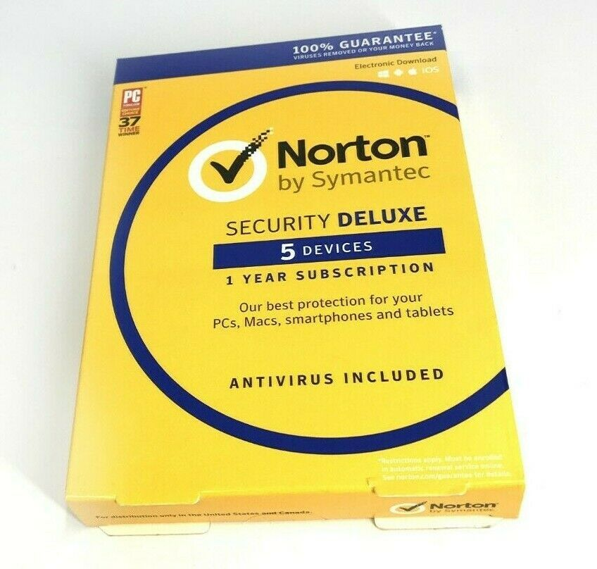 Details About Norton Security Deluxe 5 Devices 1year Pc Mac Phone Tablet 6464 Norton Security Tablet Norton Internet Security
