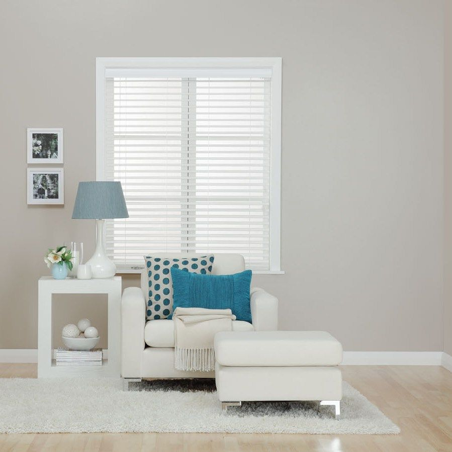 Spotlight Timber Venetians White Wooden Venetian Readymade Blinds Available Spotlight