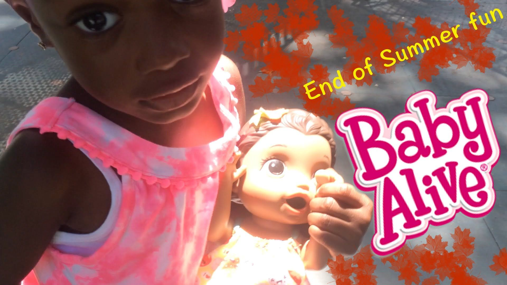 End of Summer Fun with Baby Alive | Autty's World
