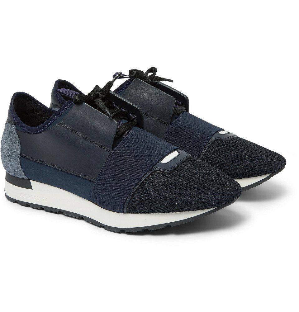 Balenciaga - Race Runner Leather