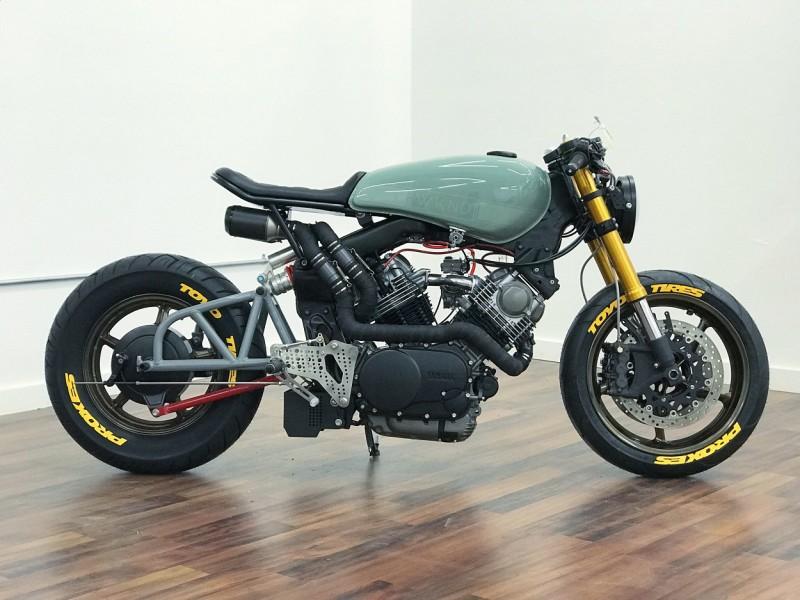 WKND Virago: Yamaha XV750 by De Stijl Moto