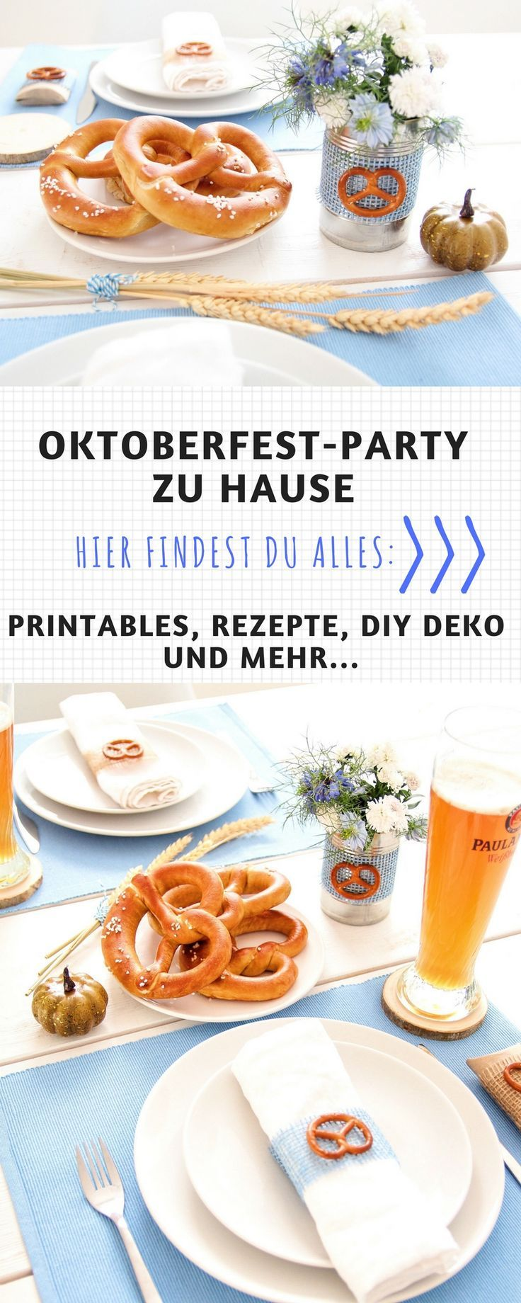 Oktoberfest-Party Zuhause #octoberfestfood
